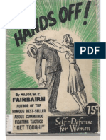 HANDS OFF! Self Defense for Women - Major W.E. Fairbairn 1942