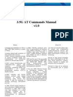 3.5G Modem at Commands Manual