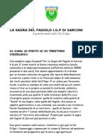 La Sagra Del Fagiolo i.g.p Di Sarconi