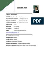 Hoja de Vida Omar Guevara