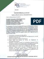 Convocatoria No. 112-06-2011