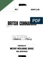 WWII 1942 British Commandos