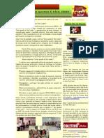 Boletim Flor do Urucum Nº 01 - Frente