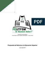 Propuesta Reforma USM -Junio2011