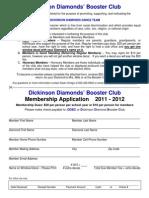 DDBC Membership Form