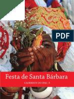Festa de Santa Bárbara - cadernoIPAC5