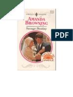 Amanda Browning - Savage Destiny