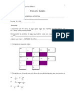 prueba d fracciones