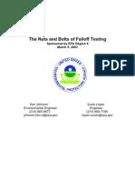 Falloff Test Whats