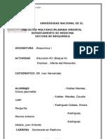 Trabajo 2 de Bioquimica Enzimas e Infarto Al Miocardio