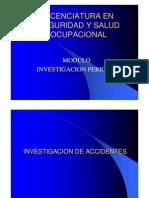 Investigacion de Accidentes de Trabajo