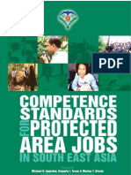 Competence Standards Protected Areas