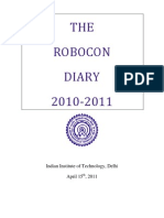 Robocon Diary 2011-IIT Delhi