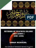 Al- Qabisi, Al- Ghazali, Ibn- Khuldun