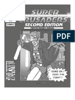 Super Crusaders Printer Edition - With Ad