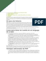 Por qué elegir PHP
