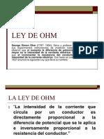 LA LEY DE OHM