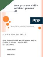 Science Process Skill for Teachers