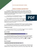 Ghid de Utilizare Microsoft Word