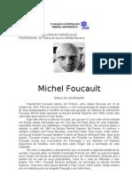 Foucault - Biografia e a Ordem Do Discurso - Revisado