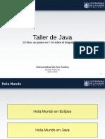 JAVA Taller Java 0