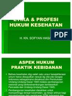 Etika & Profesi Hukum Kesehatan