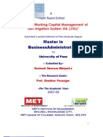 3 Working Capital Management Project