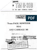75mm Pack Howitzer Manual
