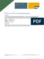 Sap Software Configuration