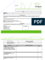 Interview Format and Evaluation Tool