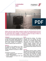 Electrical Networks Case Study - Offshore Substation