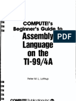 COMPUTE's Beginner's Guide to Assembly Language on the TI-99 4A