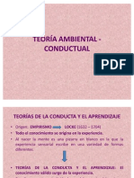 TEORÍA AMBIENTAL - CONDUCTUAL FINAL