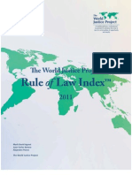 The World Justice Project - Rule of Law Index 2011