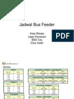 Jadwal Bus Feeder