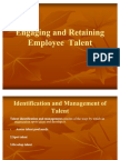 Engaging and Retaining Employee Talent