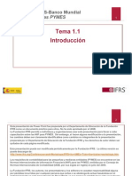 11 and 12 Workshop Outline and Overview of IFRS for SMEsTRADUCCIONyrt