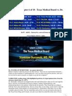 Chapter 6 of 10 - Texas Medical Board vs. Dr. Burzynski