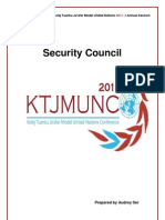 KTJMUNC 2011 - SC - Growing Ethnic Tensions in Nigeria