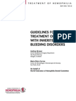 Guideline Dental Teatment Hemofilia