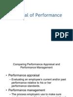 0b375appraisal of Performance