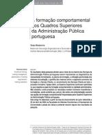 A formação comportamental dos Quadros Superiores da Administração Pública portuguesa