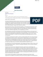 FTD - Energiewende Strapaziert Stromnetze