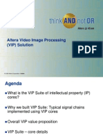 Altera Video Image Processing