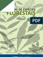 Manual de identificação e plantio de mudas de espécies florestais
