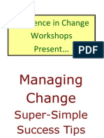 RIC Managing Change Tips Booklet
