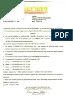 Alessia/Valdottavo srl-Contratto di Cessione del credito da Valdottavo a Valco