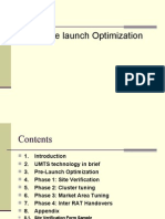 Pre Launch Optimization