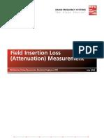 Attenuation Measurement White Paper Final