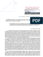 Manuel Delgado articulo de Internet sobre espacio público